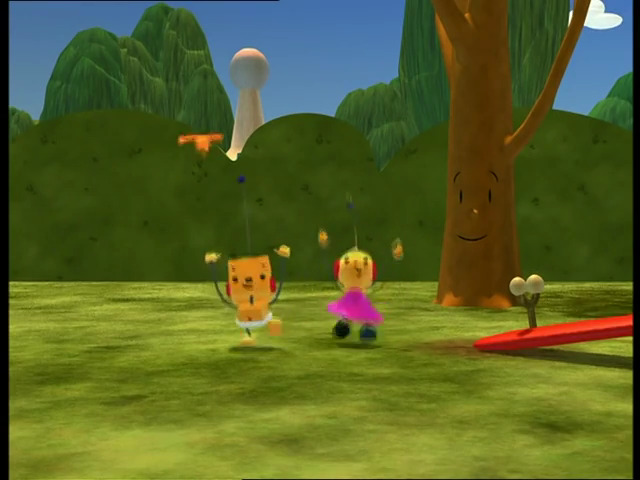 File:Zowie Polie and Binky Bevel are chasing the leaf.jpg