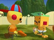 Little quarrel Olie Polie and Billy Bevel