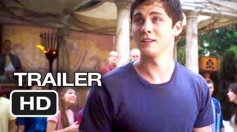 Percy Jackson Sea of Monsters Official Trailer 1 (2013) - Logan Lerman Movie HD