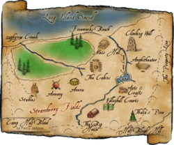 Map of Camp Halfblood