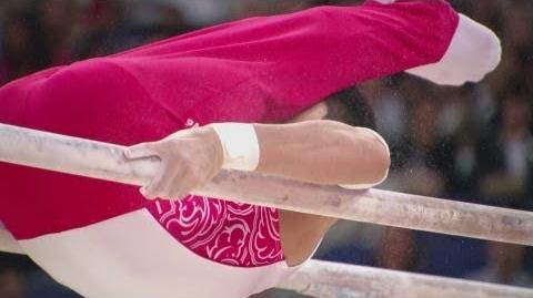 China's Feng Zhe Wins Artistic Parallel Bars Gold - London 2012 Olympics