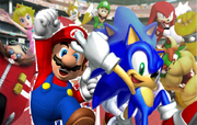 621px-Mario and Sonic - Cheering For Joy!.PNG