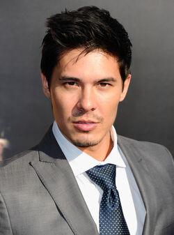 OHF stunt actor Lewis Tan