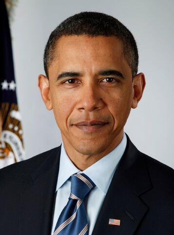 File:President Barack Obama, 2009 portrait crop.jpg