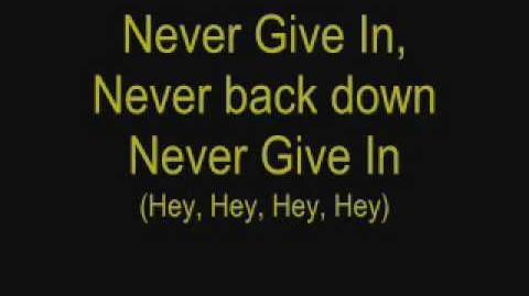Never Give In Black Veil Brides Lyrics
