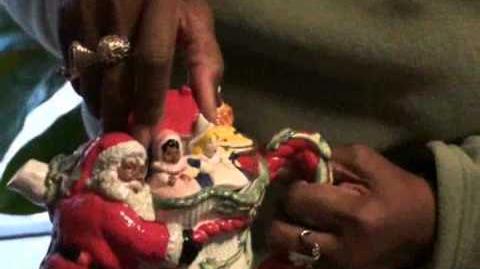 LJ's Largest Black Santa Collection