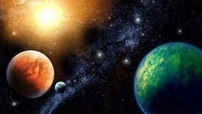Colorful-planets