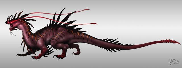 File:Drake monster megalos by cxartist-d5lm491.jpg