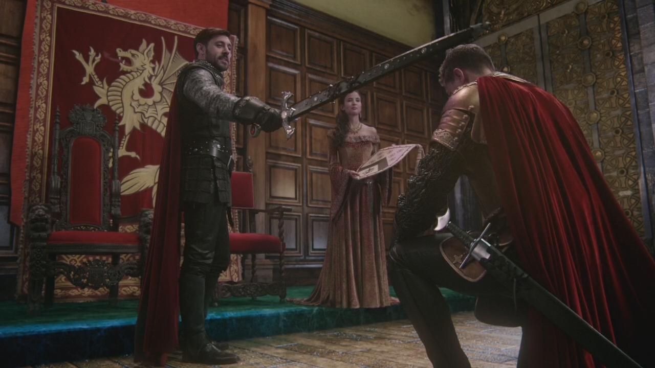 Image 5x03 roi arthur reine gueni vre david nolan - Film les chevaliers de la table ronde ...