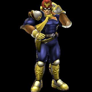Captain Falcon Clear SSBB