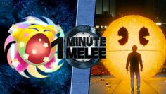 ONE MINUTE MELEE Kirby vs PAC-MAN (PIXELS)
