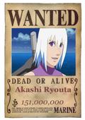 Akashi Wanted Poster