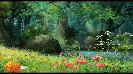 20343 anime scenery anime forest