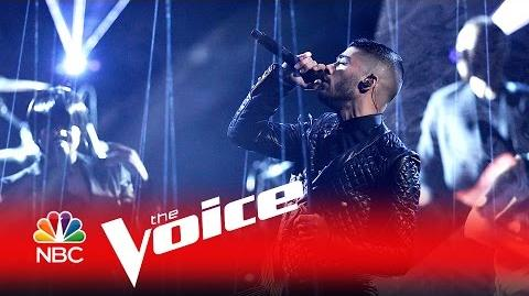 "Zayn ""Like I Would"" - The Voice 2016"
