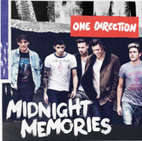 Midnight Memories cover
