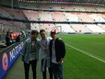 Louis, Liam and Niall - Bayern vs. Barcelona