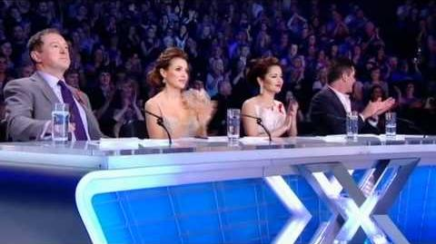 One Direction sing Only Girl In The World - The X Factor Live Semi-Final (Full Version)