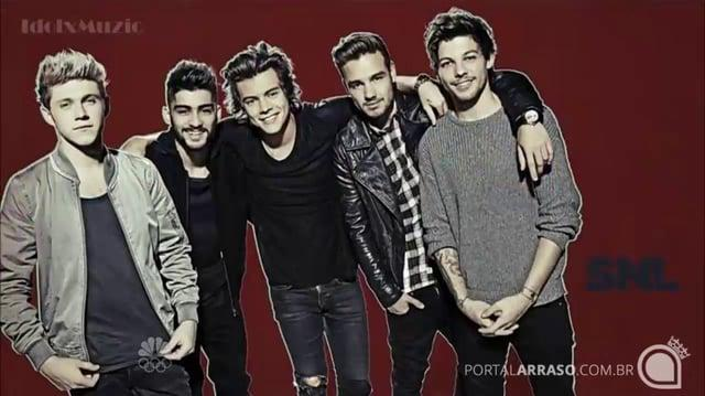 One Direction - Through the Dark - SNL 12-7-13 - Portal Arraso