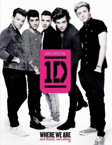 File:One Direction - Where We Are cover.jpg