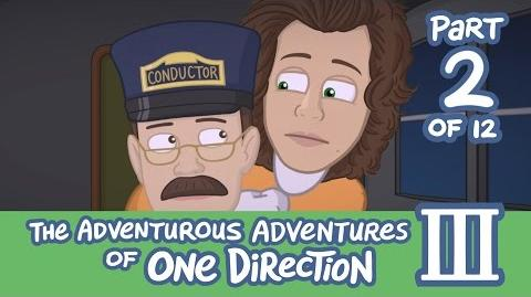 The Adventurous Adventures of One Direction 3 Part 2