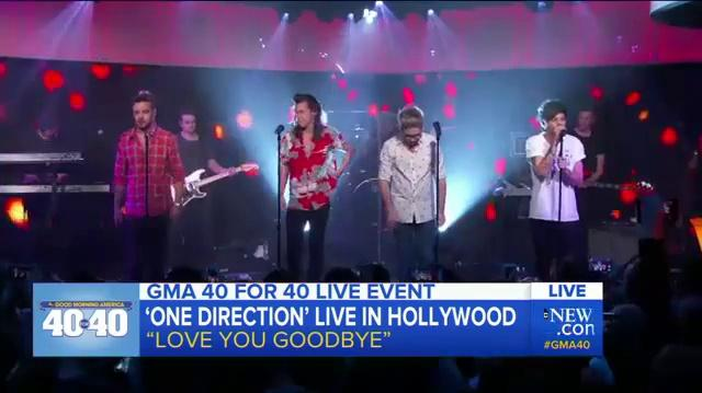 One Direction - Love You Goodbye (Live on GMA)