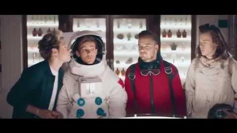 """One Direction - """"Between Us"""" Fragrance Commercial HD"""