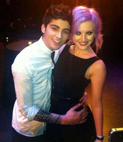File:Zayn and his fiance Perrie.jpg