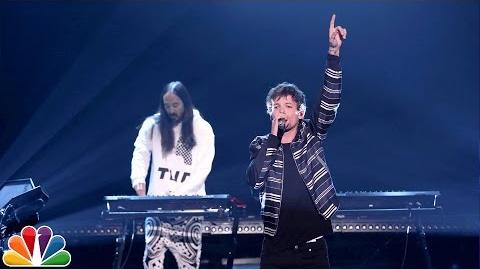 Steve Aoki and Louis Tomlinson Just Hold On