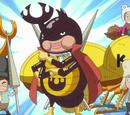 Mushi Mushi no Mi (Model Escarabat Rinoceront)
