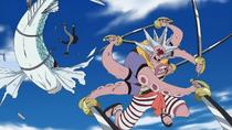 Hatchan vs. Flying Fish Riders.png