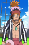 Usopp's First Outfit Strong World.png