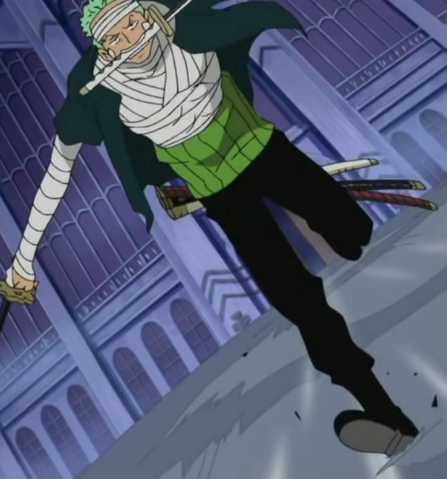 File:Zoro's Outfit on Kuraigana Island.png