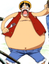 Fat Luffy During the Whiskey Peak Arc