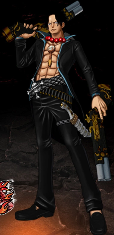 File:One Piece Burning Blood Strong World Ace (Artwork).png