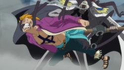Onigumo Detains Marco
