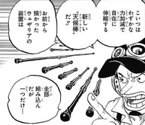 Usopp Explains Fourth Clima-tact
