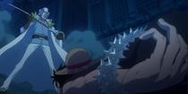 Spandam Captures Luffy