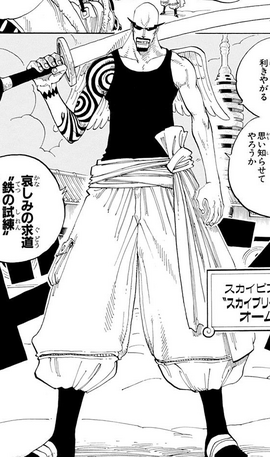 Ohm en el manga