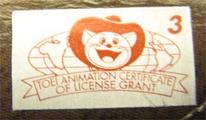 Toei Silver Sticker