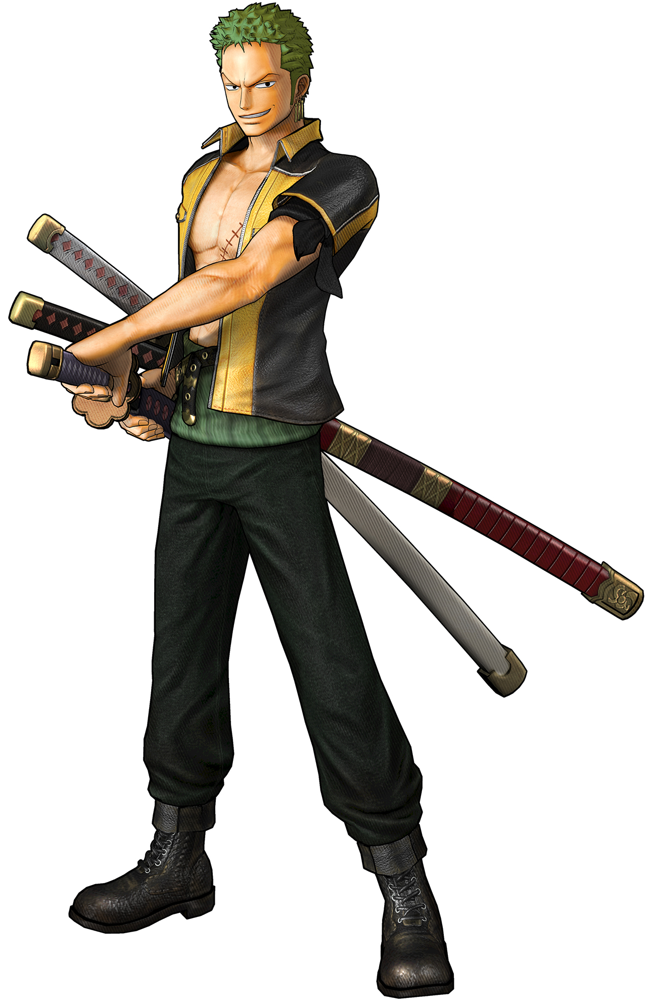 Image zoro pre timeskip pirate warriors one piece wiki fandom powered by wikia - One piece logo zoro ...