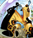 Jinbe Digitally Colored in Caribou's Cover Story