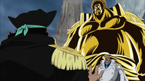Garp and Sengoku vs Blackbeard