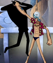 Franky Overpowers Blueno
