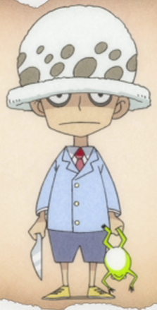 File:Trafalgar D. Water Law as a Child Anime.png
