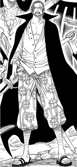 Shanks en el manga