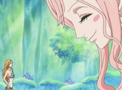 Shirahoshi Befriends Nami