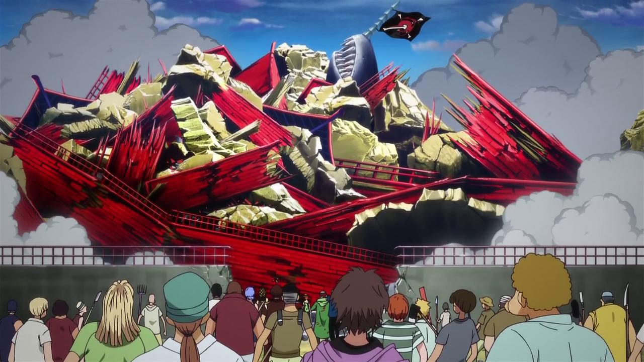 One piece manga arlong park