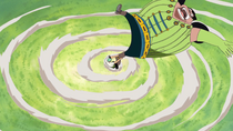 Zoro Throws Pickles