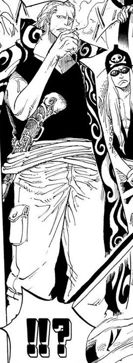 Benn Beckman en el manga