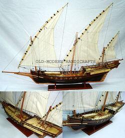 Xebec New Model Boats